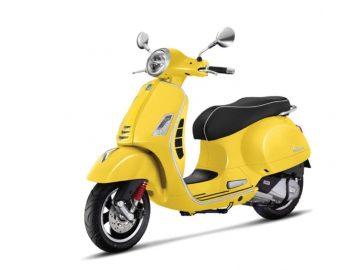 Vespa GTS 150 Yellow Sole