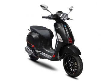 Vespa Sprint S Black Vulcano