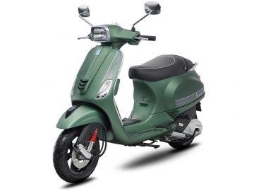 Vespa S 125 Verde Matt