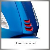 Horn Cover in Red