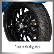 Rims in Black Glossy