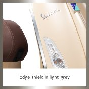 Edge Shield in Light Grey