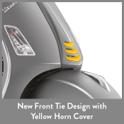 New Front tie Design with Yellow Horn COver