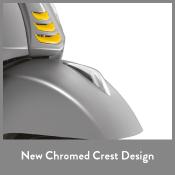 New Chrome Crest design