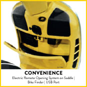 Electric Remote opening on Saddle