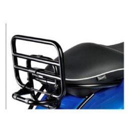 Vespa GTS Rear Foldable Carrier Black