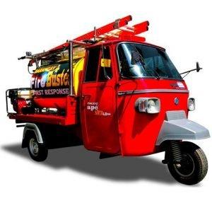 Piaggio Ape fire truck