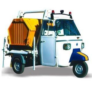 Piaggio Ape Garbage truck